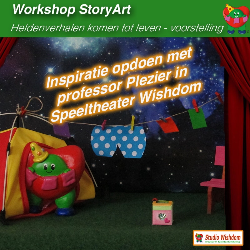 workshop storyart voorstelling